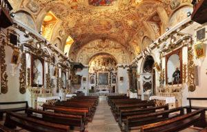Chiesa San Antonio interno 1